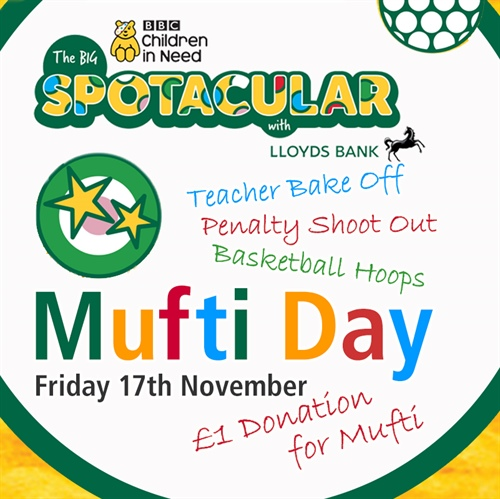 Mufti Day for Children In Need