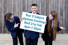 Year 9 Subject Options Information Evening