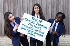 Year 10 Parents' Evening