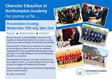Character Education Presentation Evening