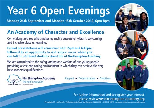 Year 6 Open Evenings