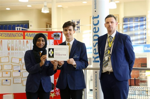 Northampton Academy Receives Prestigious 'School of Character' Kitemark
