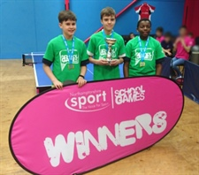 Table Tennis Stars Crowned County Champions