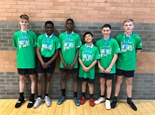 Indoor Athletics Team County Finals Success