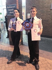 Young Cadets Awarded for Community Work