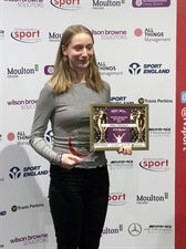 Abbie Wins Young Volunteer of the Year