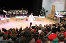Local Primaries Enjoy a Festive Morning of Science, Music, Drama and Dance.